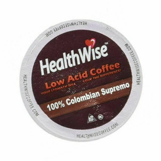 HealthWise Low Acid Coffee For Keurig K-Cup Brewers