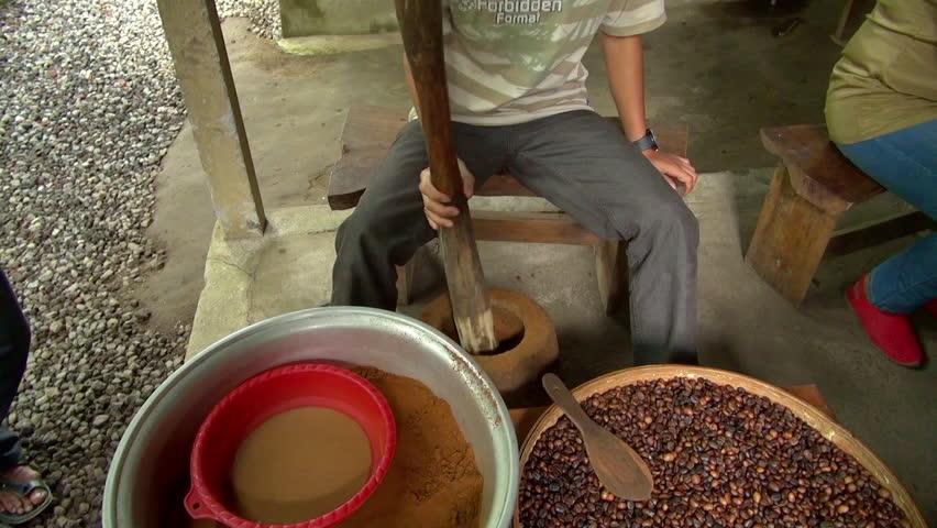 coffee pounding