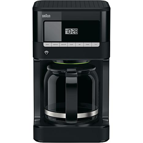 Braun Brew Sense Drip Coffee Maker, 12 cups, Black