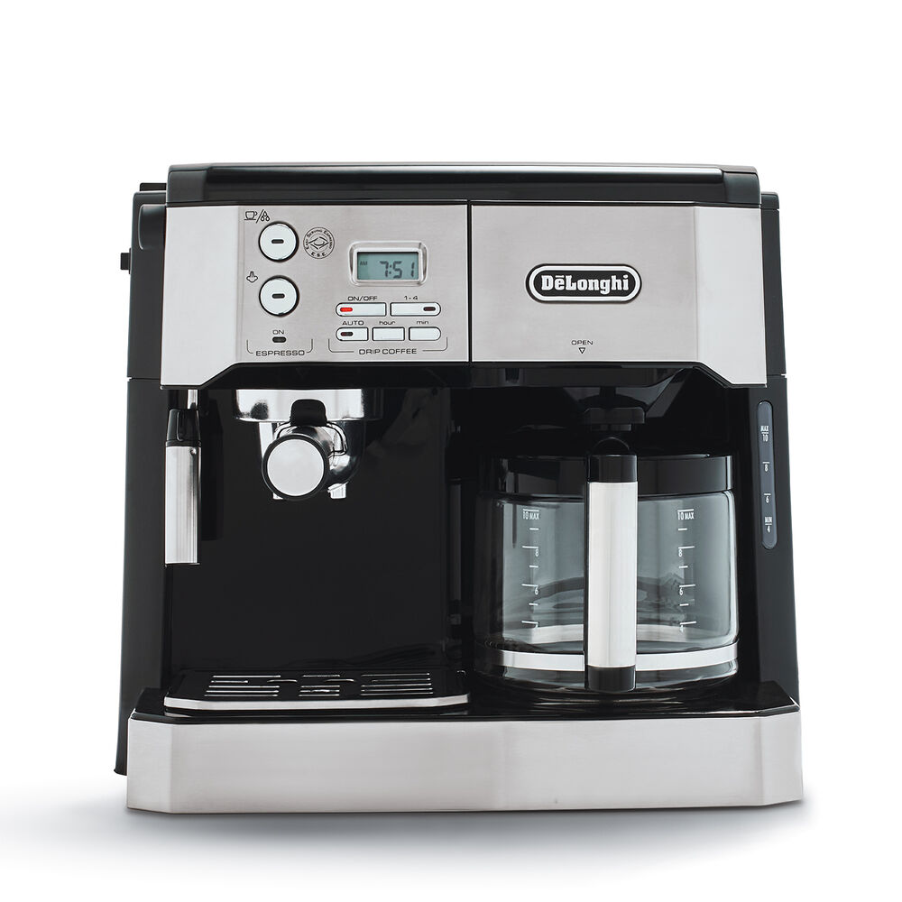 DeLonghi BCO430 Combination Pump Espresso and 10-Cup Drip Coffee Machine