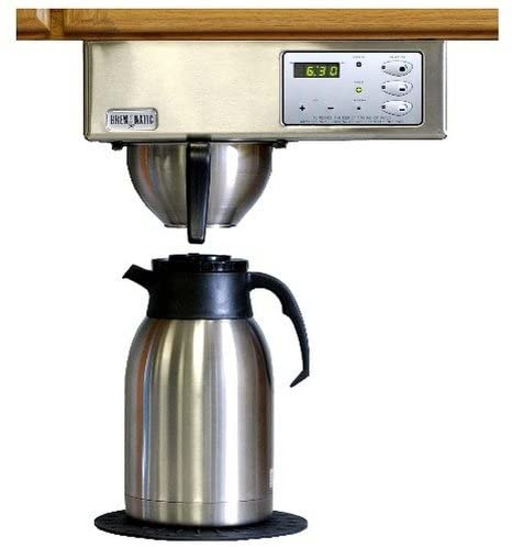 Features of the Brewmatic Under Cabinet Coffee Maker