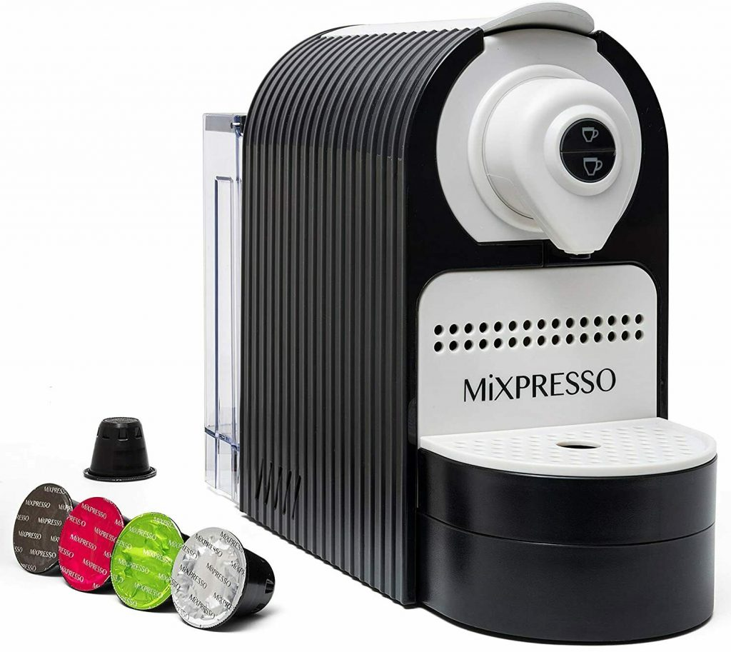 Mixpresso Espresso Machine for Nespresso Compatible Capsule