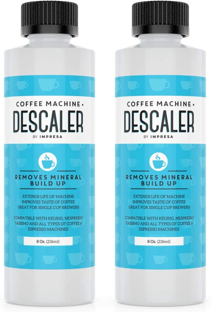 Universal Descaling Solution for Keurig, Nespresso, Delonghi and All Single Use Coffee and Espresso Machines