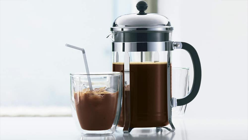 Brewing Coffee Using A French Press Coffee Maker