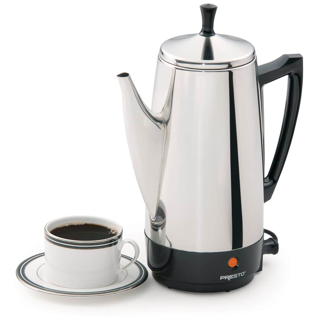 Presto 02811 6-cup Stainless Steel Coffee Maker