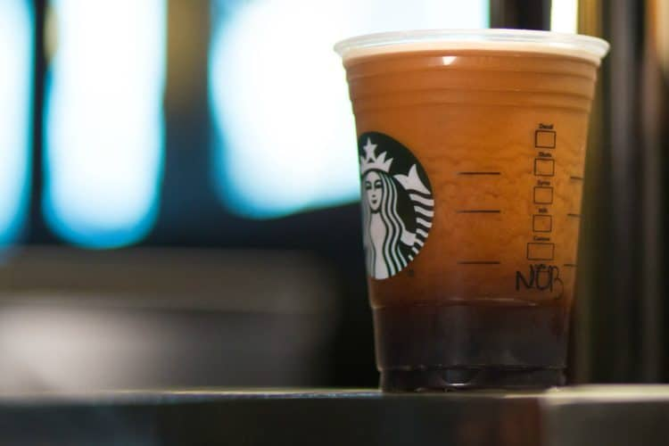 what starbucks drink has the most caffeine