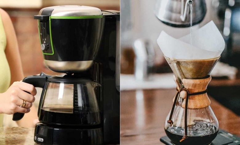 Automatic Pour Over Coffee Maker Vs Drip Coffee Maker