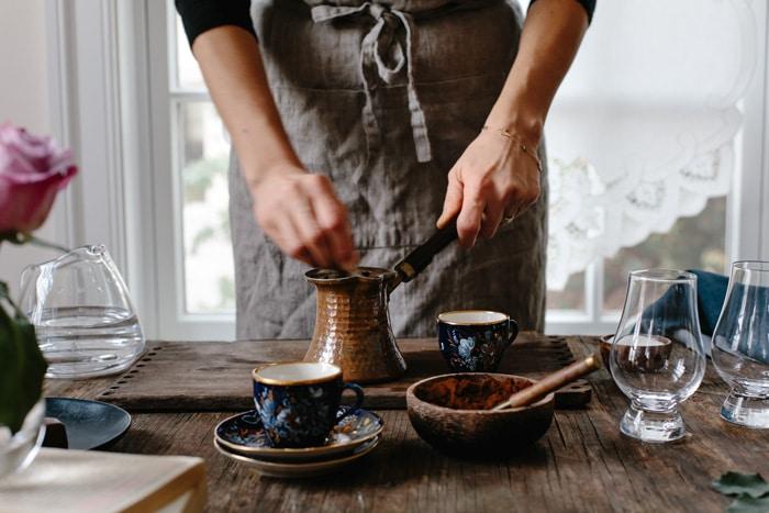 turkish coffee brewer