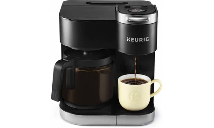 Keurig K-Duo Coffee Maker, Single Serve, and 12-Cup Carafe Drip Coffee Brewer