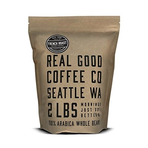 Real Good Coffee Co Dark French Roast