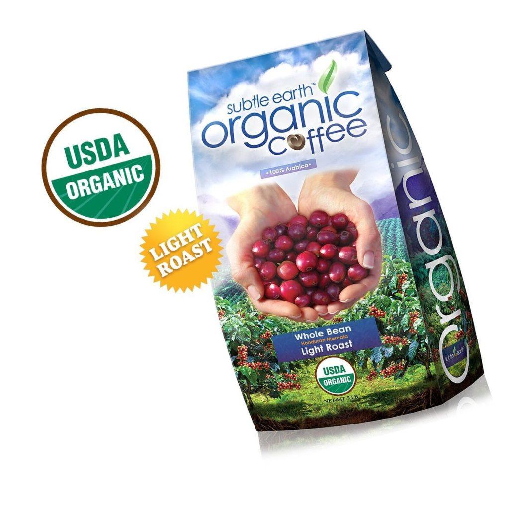 Subtle Earth Organic Light Roast Coffee