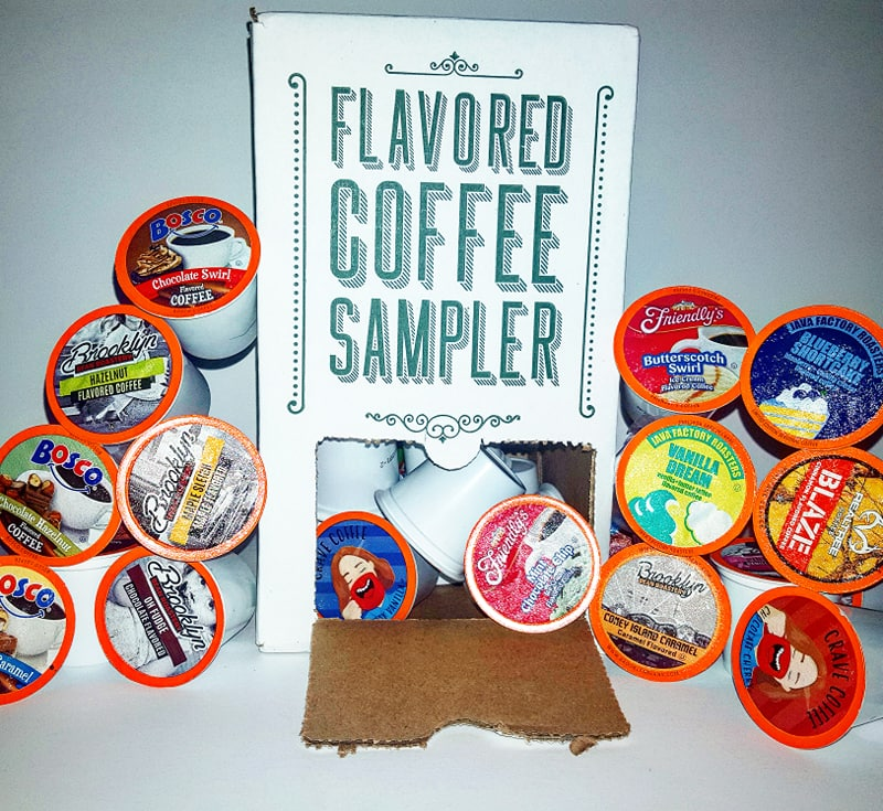 Two Rivers Coffee Flavored Variety Pack Sampler Coffee Pods